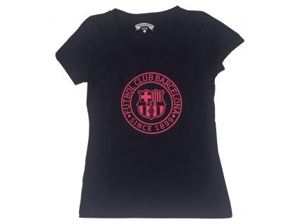 Dámské tričko FC Barcelona navy core fluor