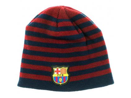 Zimní čepice FC Barcelona 18/19 stripes