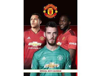 Kalendář Manchester United FC 2019 A3