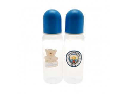 Kojenecké láhve Manchester City 2pk