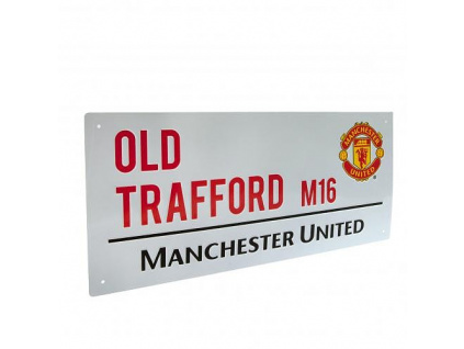Plechová cedule Manchester United OT