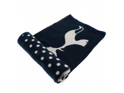 Fleecová deka Tottenham Hotspur 125x150cm
