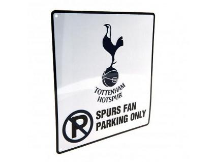 Plechová cedule Tottenham Hotspur No parking