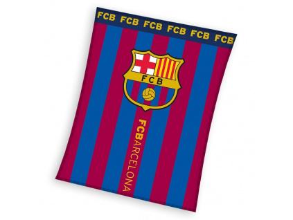 Fleecová deka FC Barcelona 18 110x140cm