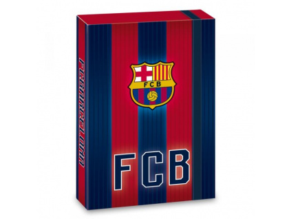 Box na sešity FC Barcelona stripes 18 A5