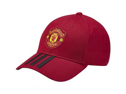 Kšiltovka Adidas Manchester United 3S 18/19 červená