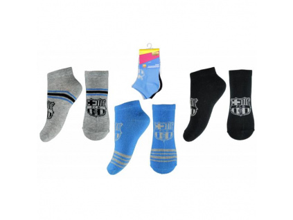 Ponožky FC Barcelona 18 dětské 3pk