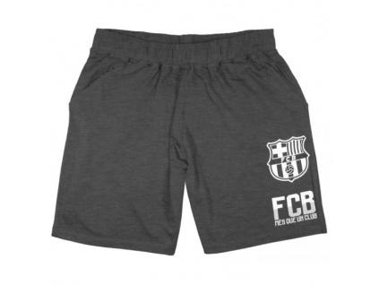 Šortky FC Barcelona 18 šedé