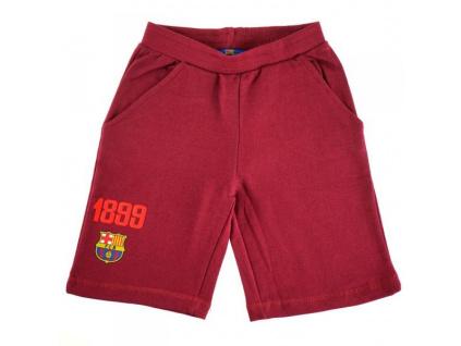 Šortky FC Barcelona 18 červené