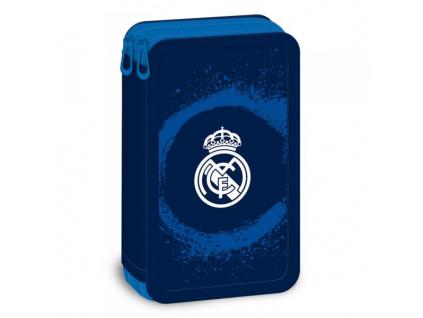 Penál Real Madrid blue 18 dvoupatrový