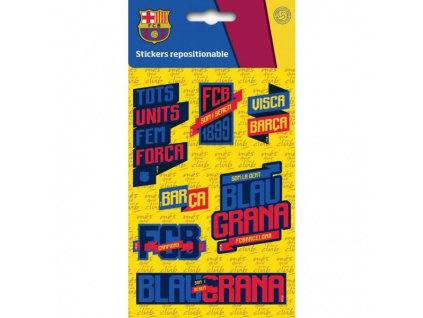 Samolepky FC Barcelona mini