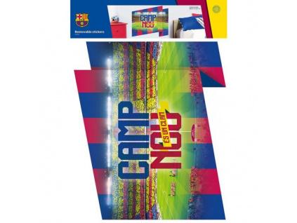 Samolepící dekorace FC Barcelona Camp Nou maxi