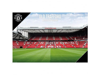 Plakát Manchester United stadion 61x91cm