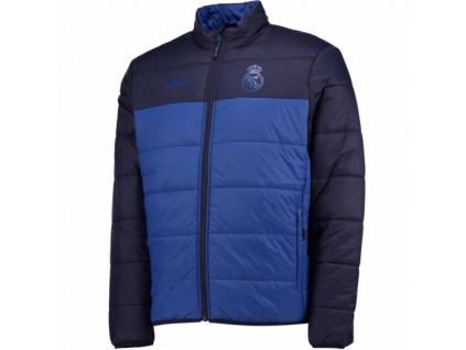 Zimní bunda Real Madrid blue 17 junior