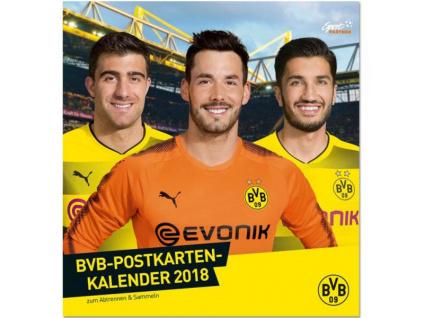 Kalendář Borussia Dortmund 2018 pohlednicový