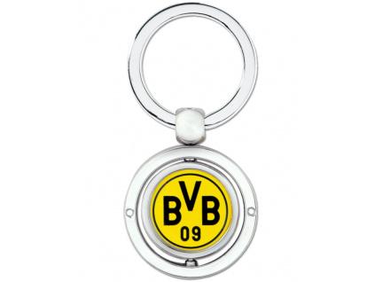 Přívěšek na klíče Borussia Dortmund otočný
