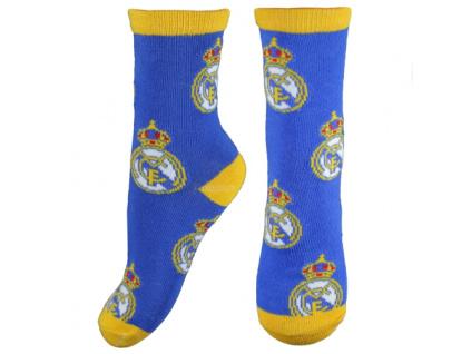 Ponožky Real Madrid JR znaky modré