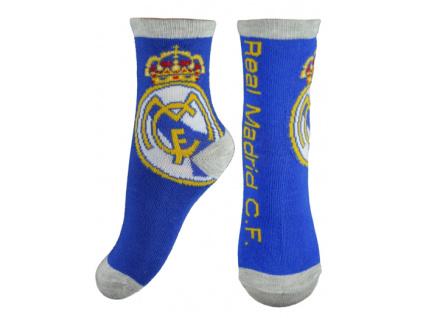 Ponožky Real Madrid JR crest modré