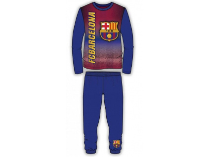 Pyžamo FC Barcelona printed JR