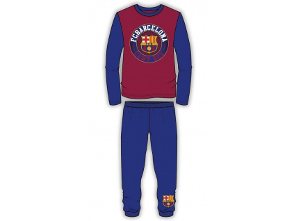 Pyžamo FC Barcelona circle JR