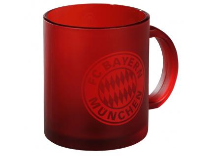 Skleněný hrnek Bayern Mnichov red 300 ml
