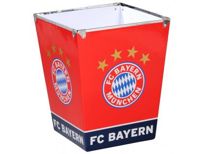 Odpadkový koš Bayern Mnichov logo 26cm