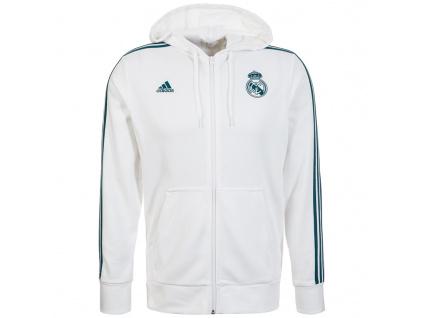Pánská mikina Adidas Real Madrid 17/18 white