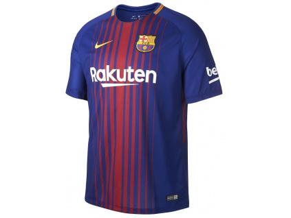 Dres Nike FC Barcelona domácí 17/18 dětský