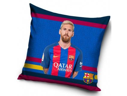 Povlak na polštářek FC Barcelona Messi 17/18 40 x 40 cm