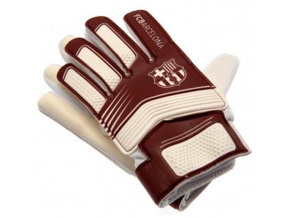 Brankářské rukavice FC Barcelona 17 dětské