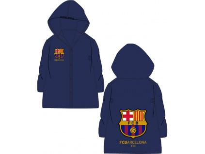 Dětská pláštěnka FC Barcelona navy