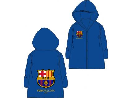 Dětská pláštěnka FC Barcelona modrá