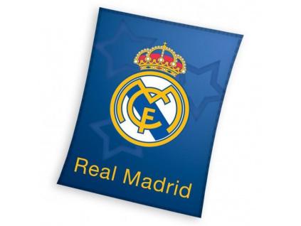 Fleecová deka Real Madrid stars 110x140cm