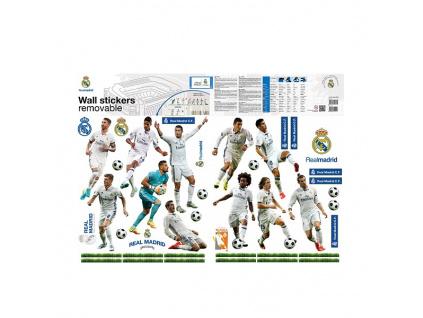 Samolepící dekorace Real Madrid hráči 2 archy A3