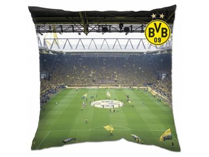 Polštářek Borussia Dortmund stadion 40x40 cm