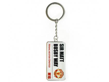 Přívěšek na klíče Manchester United street