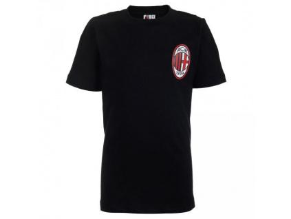 Dětské tričko AC Milan black