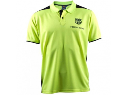 Pánské polo FC Barcelona training žluté