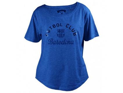 Dámské tričko FC Barcelona handy blue