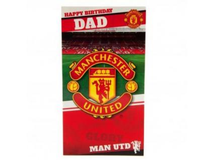Blahopřání k narozeninám Manchester United tátovi