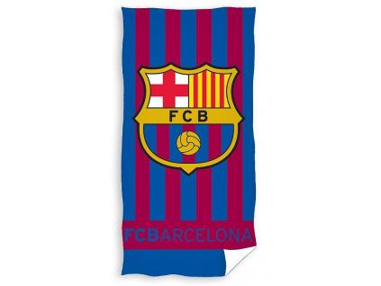 Osuška FC Barcelona stripes 70 x 140 cm