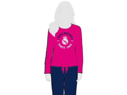 Dívčí pyžamo Real Madrid pink