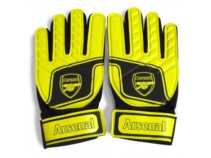 Brankářské rukavice Arsenal žluté JR