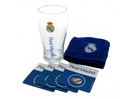 Pivní set Real Madrid blue
