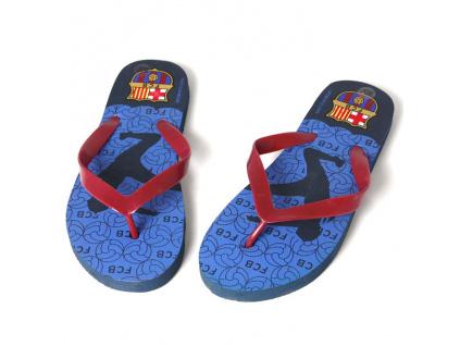 Dětské žabky FC Barcelona typ D