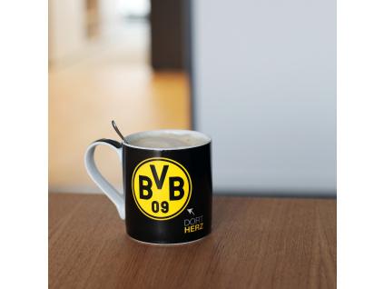 Hrnek Borussia Dortmund black 300 ml