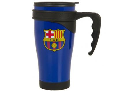 Cestovní hrnek FC Barcelona modrý 450ml
