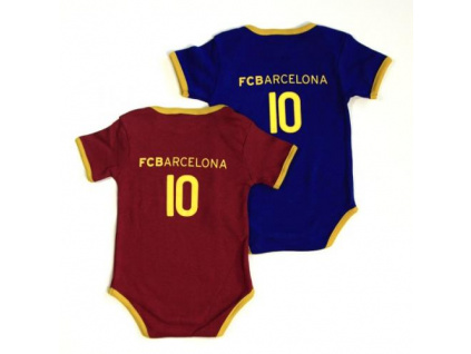 Sada bodyček FC Barcelona 2ks klasik