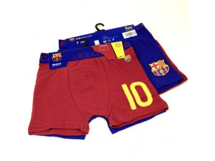 Dětské boxerky FC Barcelona 2ks
