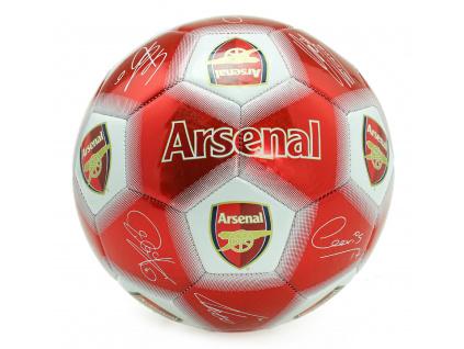 Fotbalový míč Arsenal FC podpisy vel. 5